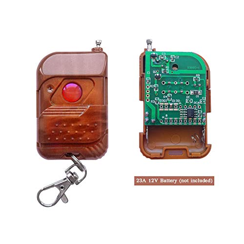 ELENKER DC 12V 10A Relay 1CH Wireless RF Remote Control Switch Transmitter  with Receiver
