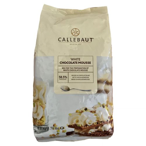 Callebaut White Chocolate Mousse 1 bag
