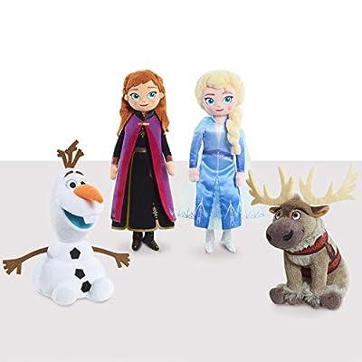 Disney Frozen 2 Talking Small Plush Anna: Toys & Games