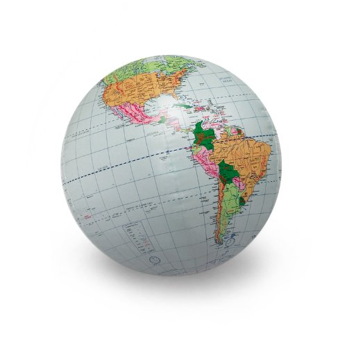 American Educational Inflatable World Globe, 24