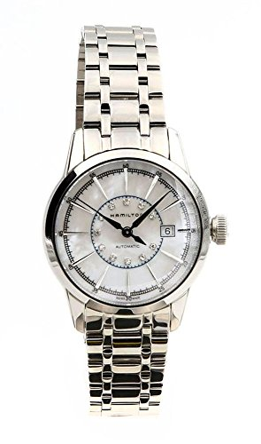 Hamilton H40405191 Railroad ladies Swiss watch (Hamilton Watch Diamond Wrist)