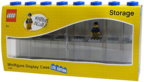 Edition Special Display (LEGO Minifigure Display Case Large - Blue Special Edition Bonus Minifigure)