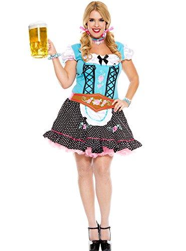 MUSIC LEGS Women's Plus-Size Miss Oktoberfest Plus Size,