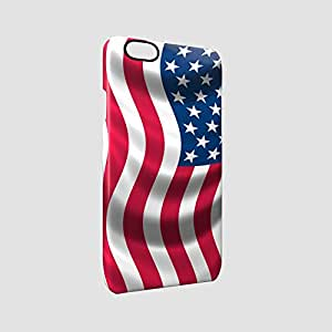USA Flag Glossy Hard Snap-On Protective iPhone 6 / iPhone 6s Case Cover