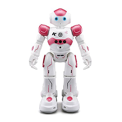 Harmily Intelligent Robot Programming Remote Control Robotica Toy Biped Humanoid Robot Children Kids Birthday Gift Present
