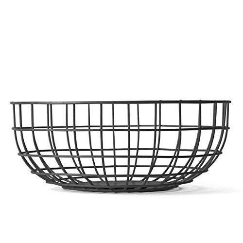 (MENU 9100539 Wire Bowl, Black)