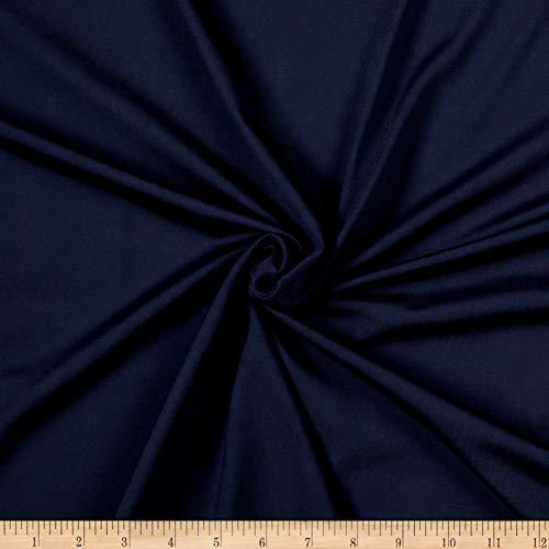 Moisture Management Jersey - Sportek International Perfo-Tek High-Performance Moisture Management Jersey Knit Navy, Fabric by the Yard