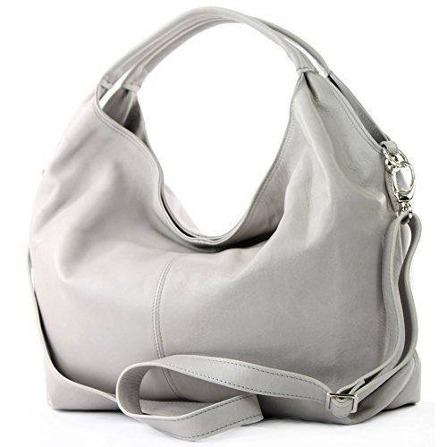 T61 bag Italian Light nappa leather Gray women's leather bag bag handbag shoulder qwfwpTF