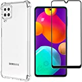 Kit Capa Anti Impacto Compatível com Samsung Galaxy M32 + Película Vidro 3D Temperado