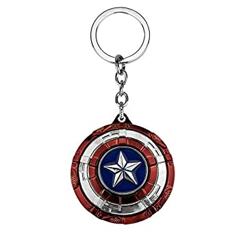 Amazon.com: Movie Key Chain Avengers Infinity War Captain ...