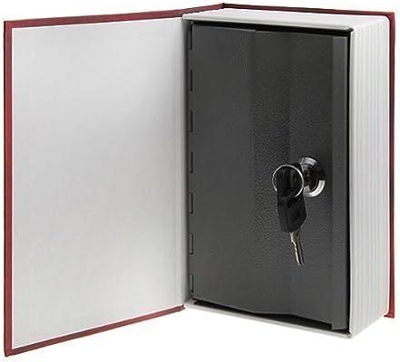 HUCHA diseño LIBRO secreto Pequeño, caja fuerte oculta. Hollywood. 18 cm. 1 unidad: Amazon.es: Hogar
