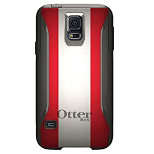 CUSTOM Black OtterBox Commuter Series Case for Samsung Galaxy S5 - Austria Flag