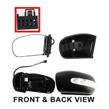 Mercedes benz c class driver side replacement for Mercedes benz rear view mirror replacement