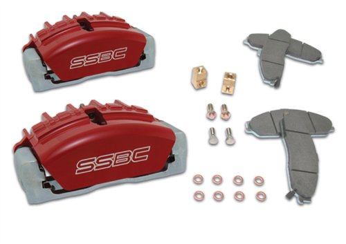 SSBC A189-2P Quick Change Tri-Power Kit with Polished Calipers by SSBC (Image #1)