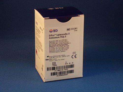 BD Biosciences 225381 Salmonella O Antiserum Poly E 3mL by BD Biosciences
