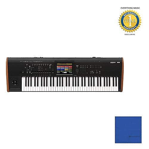 (Korg Kronos 73 Music Workstation with SGX-2 Engine (Black) with Microfiber and 1 Year Everything Music Extended Warranty)