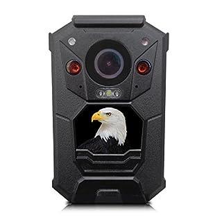 Alpha Digital Law Enforcement Body Camera Security Camera, Black (EH05)