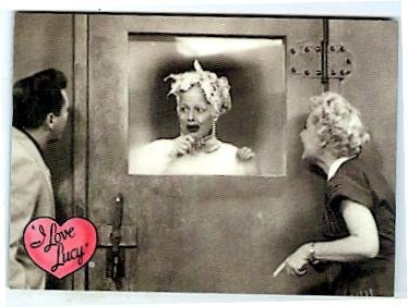 Lucille Ball trading card I Love Lucy 2001 Dart #11 The Freezer Desi Arnaz Vivian - Lucille Autographs Ball