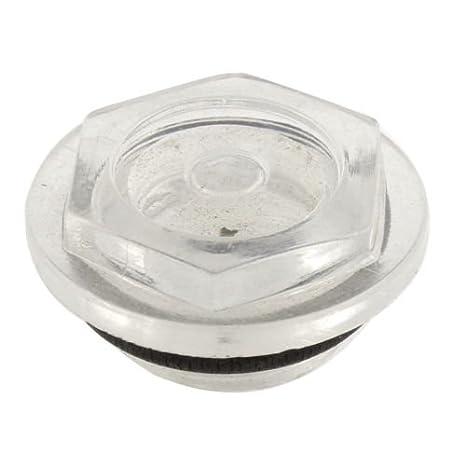 alicenter (TM) goma arandela del nivel de aceite Sight cristal 22 mm diámetro de rosca para Compresor de aire: Amazon.es: Electrónica