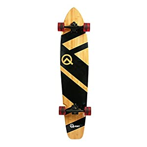 Quest QT-NSC44C The Super Cruiser The Original Artisan Bamboo and Maple 44″ Longboard Skateboard