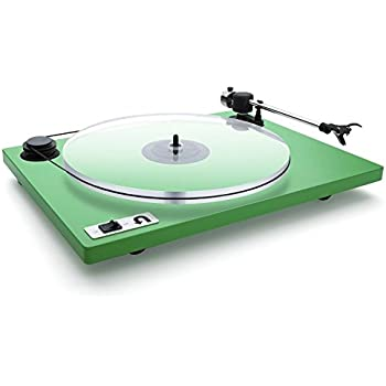 Amazon.com: Pro-Ject Debut Carbon DC Record Player Green ...