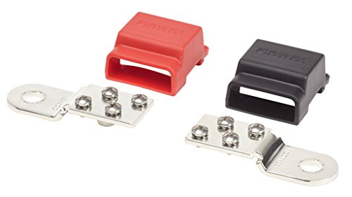(Blue Sea Systems BusBar Battery Terminal Mount, 4 x 10-24