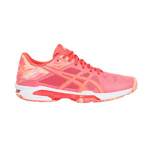 ASICS Women's Gel-Solution Speed 3 L.E. Flash Coral/Canteloupe/Apricot Ice 10.5 B US