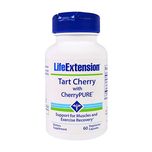 Life Extension Tart Extract with Standardized Cherry/Pure Veggie Capsules, 60 Count