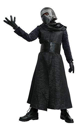 Kylo-Kostm-Schwarzes-Fancy-Suit-Cosplay-Villain-Deluxe-Erwachsenes-Halloween-Herren-Kleidung-ohne-Maske