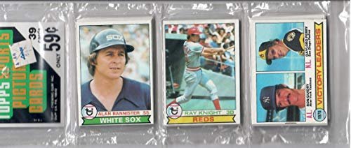1979 Topps Baseball Factory Sealed Rack Pack Of 39 Cards Ozzie Smith Rookie?
