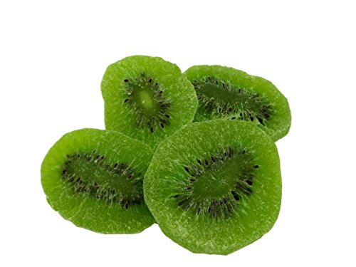 NUTS U.S. - Dried Kiwi Slices, Sweet, Dehydrated, Fruit Snacks In Resealable Bag!!! (3 - Kiwi Slices