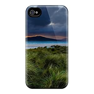 Premium Seashore Grass Heavy-duty Protection Cases For Iphone 6