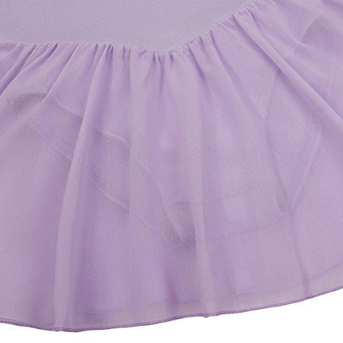 Ballet Dancer Dress TiaoBug Sleeve 2 Leotard Long Lavender Girls 12Years TwU7SqU
