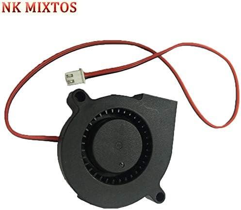 CN Tool Parts NK MIXTOS 1Pc DC 12V Blow Radial Cooling Fan For RepRap 3D Printer Accessories Cooler Fans