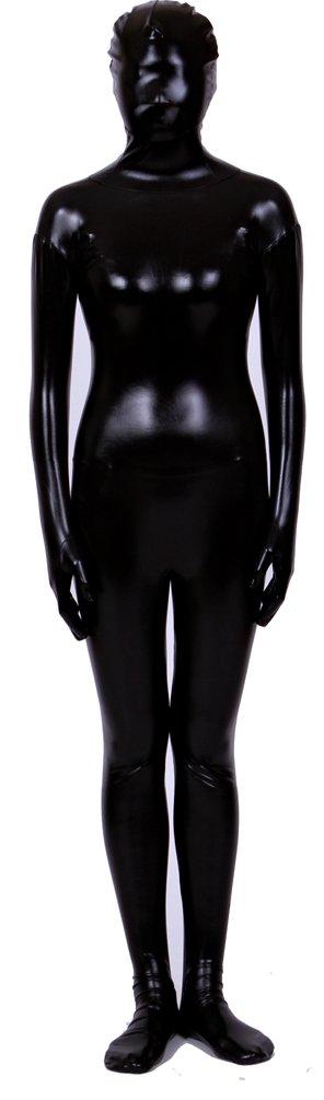 Seeksmile Unisex Shiny Metallic One Peice Zentai Suit 41V2SutwBUL
