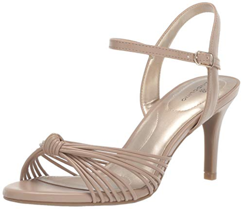 Bandolino Footwear Women's JIONZO Heeled Sandal, café Latte, 7.5 Medium US
