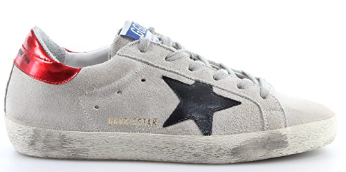 Italy Scarpe Suede Goose Traffic New Superstar Golden Sneakers Light Pearl Donna UzwYq5