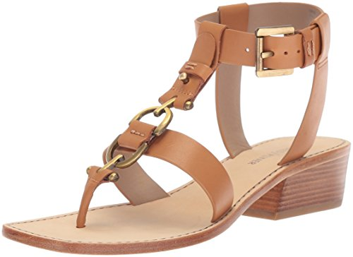 Donald J Pliner Women's Dena Sandal, Fawn, 7.5 Medium US