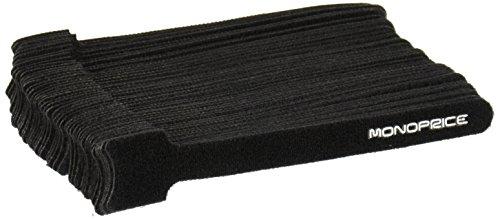 Monoprice 106457 Hook and Loop Fastening Cable - Velcro Zip Ties