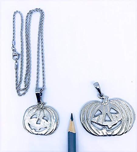 Pumpkin Jack O Lantern Halloween Pendant