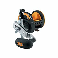 Daiwa Sgt50h Seagate Star Drag Saltwater Conventional Reel, Black & Orange Finish