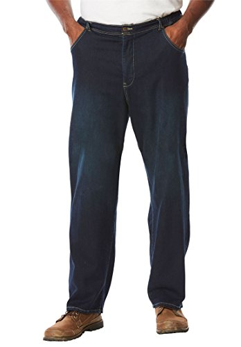 KingSize Mens Regular Denim Sweatpants