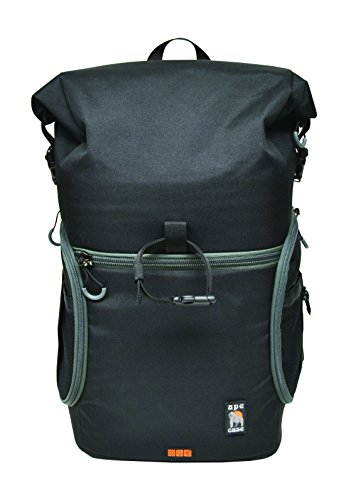Ape Case, Maxess Rolltop, Black, Water-resistant, Backpack, Camera bag (ACPRO3000) by Ape Case