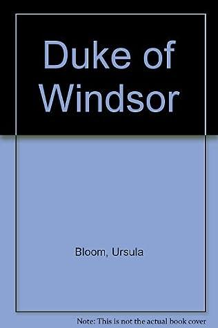 book cover of Duke of Windsor
