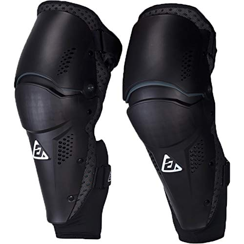 Answer Racing Apex Pivot Adult Off-Road Motocycle Knee Guard - Black/One Size