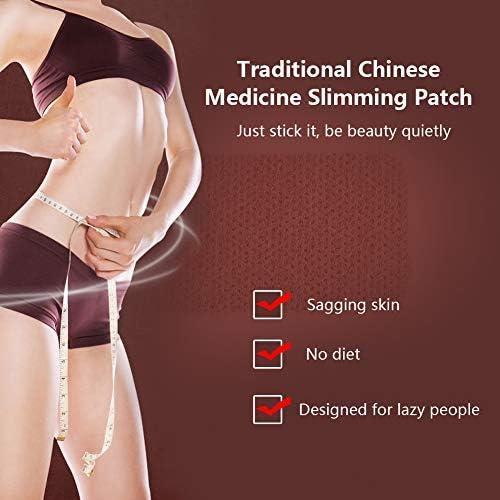 Schlank Patch - Chinesische Medizin Fettverbrennung Patches Bauch abnehmen Gesunde Gewichtsverlust Roman Aufkleber...