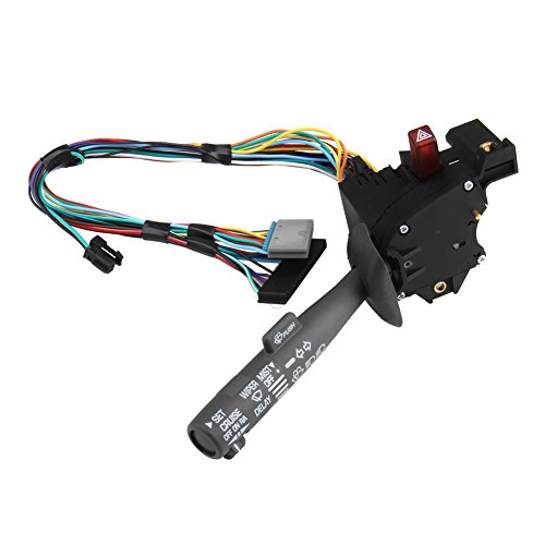 Bang4buck Cruise Control Windshield Wiper Arm Turn Signal Lever Switch for Chevy GMC Truck