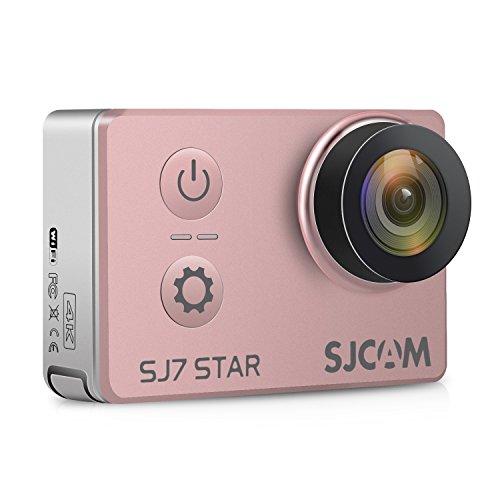 "SJCAM SJ7 STAR 4K HD WIFI Action Camera 2""LCD Touch Screen Metal Body Sports Camcorder Ambarella A12S75 Sony IMX117 Underwater Waterproof Digital Camera Gyro Stabilization Gold Rose SJCAM"