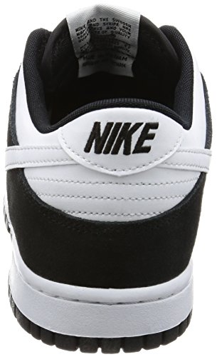 001 Black Dunk Basket Nike Scarpe Low Uomo White Da zwfqa8H