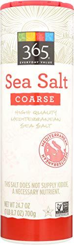 365 Everyday Value, Sea Salt, Coarse, 24.7 oz